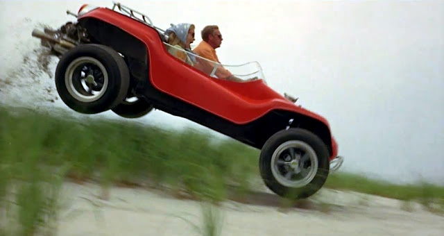 The 'Man' himself, Steve McQueen takes Faye Dunaway for the ride of her life in The Thomas Crown Affair! :)
