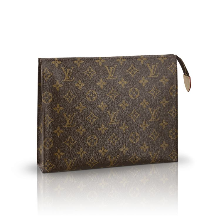 Toiletry Pouch 26 via Louis Vuitton- Have one and want another! Such a great, versatile bag!