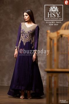 HSY - Luxury Pret Eid 2015 Collection