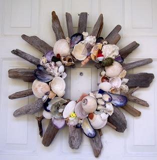 Everything Coastal....: Seashell Natural Decorating