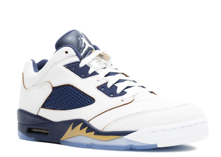 buy real authentic air jordan 5 retro low mens white mtlc gold star-mid  navy dunk from above