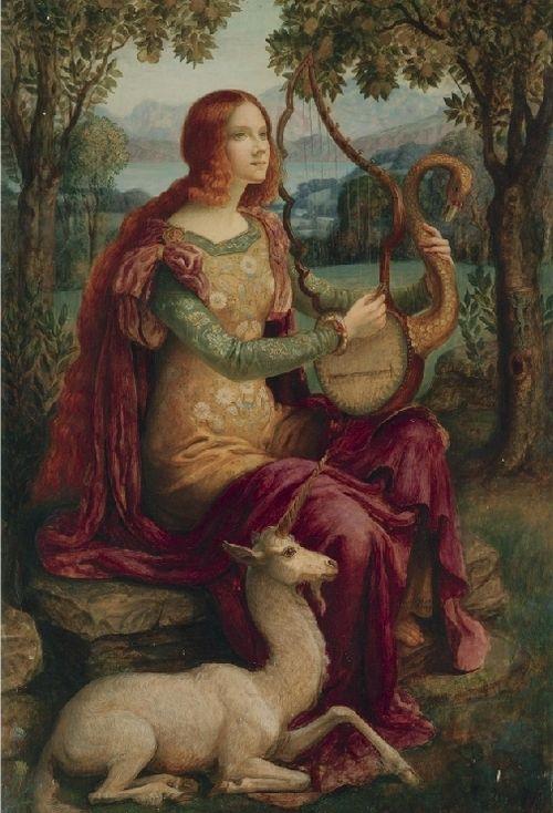 Armand Point - La dame à la Licorne (1898)