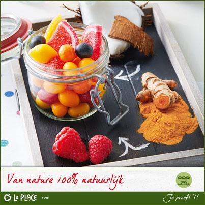Voor onze chocolaterie gebruiken we natuurlijke ingrediënten en kleurstoffen. Zo wordt bijvoorbeeld de kleur geel gemaakt van kurkumawortel.   Weet jij waar zwart van wordt gemaakt?  (wij verloten morgen (donderdag 20 juni) 3 zakjes zomerfruit uit de goede antwoorden)