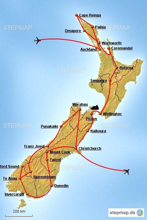 Roadtrip Neuseeland: Von der Nordinsel zur Südinsel