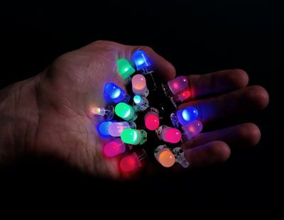 ThinkGeek :: LED Magnetic Digital Graffiti