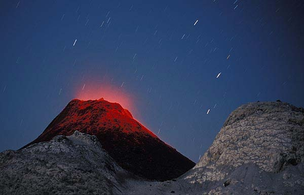 Oldoinyo Lengai: an active volcano located in the N of TZ. It is part of the volcanic system of the East African Rift, in the E Rift Valley south of both Lake Natron & Kenya
