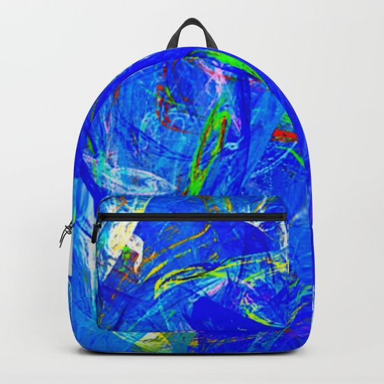 Splash of Paint Backpacks