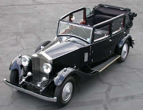 1932 ROLLS-ROYCE 20/25 Tickford Cabriolet by Salmons & Sons