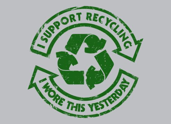 Recycling support