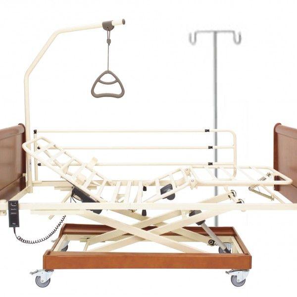 PORTASUEROS E INCORPORADOR/POTENCIA PARA CAMA ALEGIO - REF: 5060030.D0 / 5057600.D0: Son dos instrumentos indispensables para la ayuda del enfermo en caso de un período prolongado encamado.