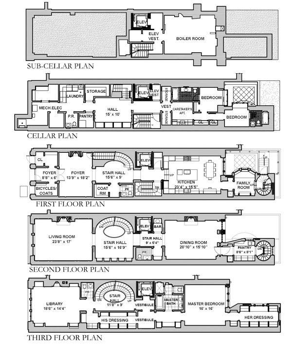 Floorplan 1 Familiy 17 Feet Architectural Drawing