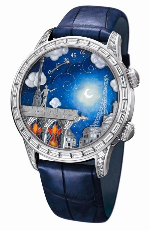 I love this watch, period.     Van Cleef & Arpels Poetic Wish