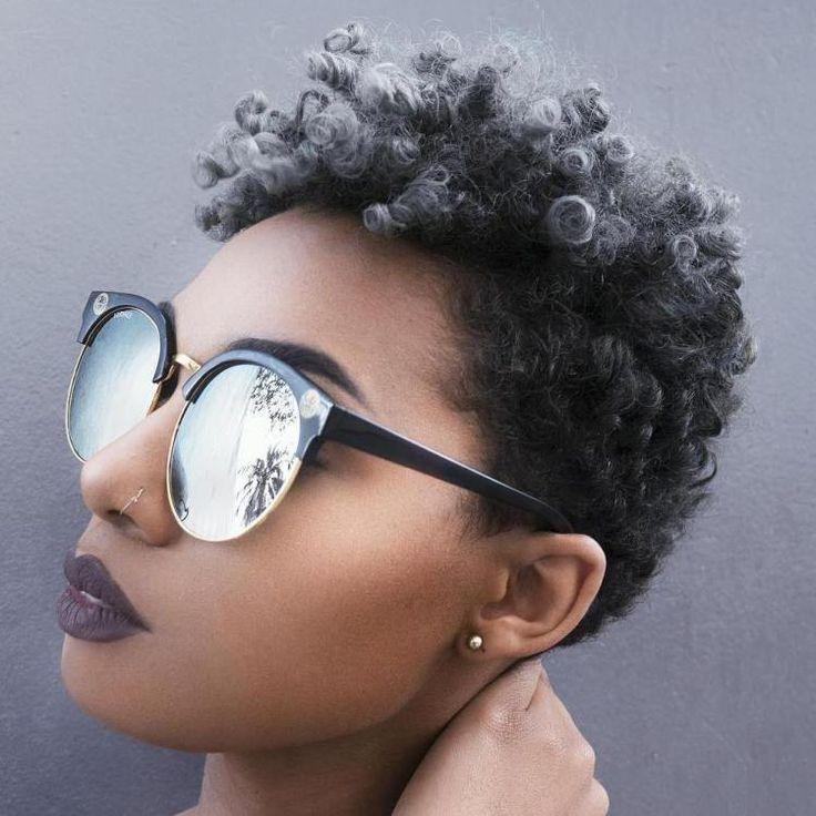Short Natural Hairstyle                                                                                                                                                                                 More