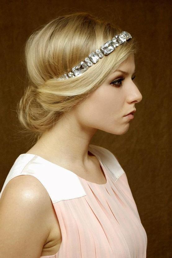beautiful 50s wedding hair! | Hair | Pinterest
