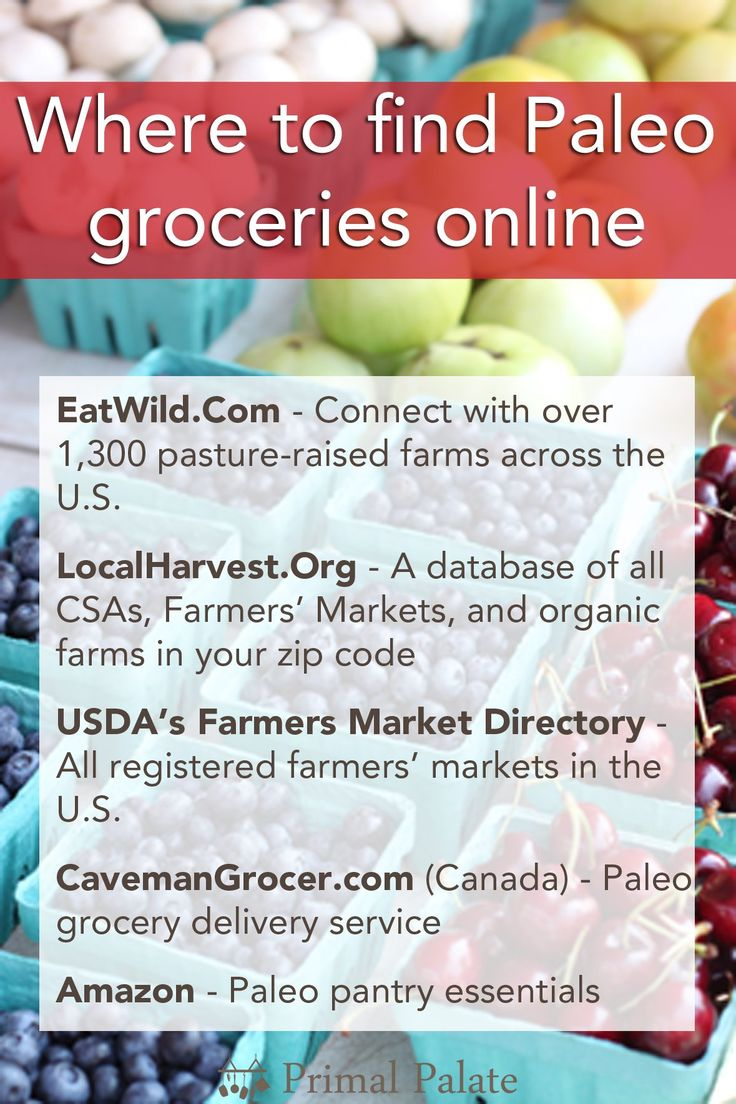 where to find paleo groceries online