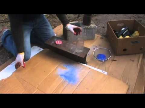 How to make recycle glass bottles into glass sand. you can use glass sand for melting under a fernel lens, a layered look in a planer, a terrazo cement look and anything else you can come up with
