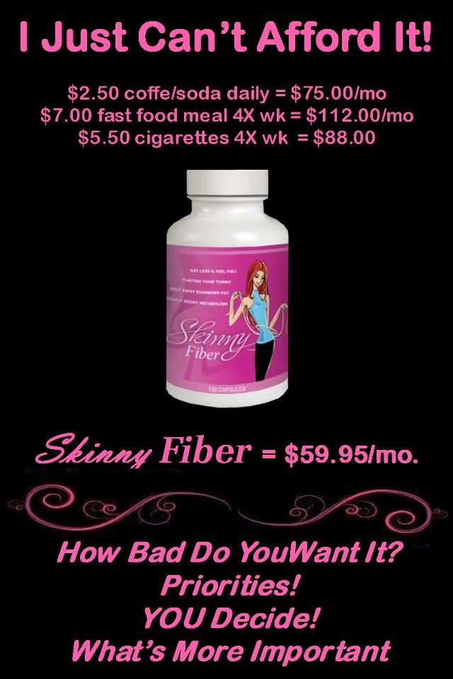Skinny fiber is an all-natural weight loss solution that melts away stubborn fat, naturally detoxifies the body and speeds up your metabolism! You can do it with the help of skinny fiber!!! Start your 90 day challenge today with me at www.kimberly.SBC90.com  and join me on facebook for a free health support group https://www.facebook.com/groups/KimsHealthyFriends/
