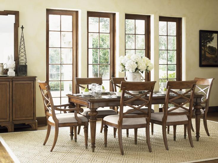 Quail Hollow Grayson Dining Table Lexington Home Brands