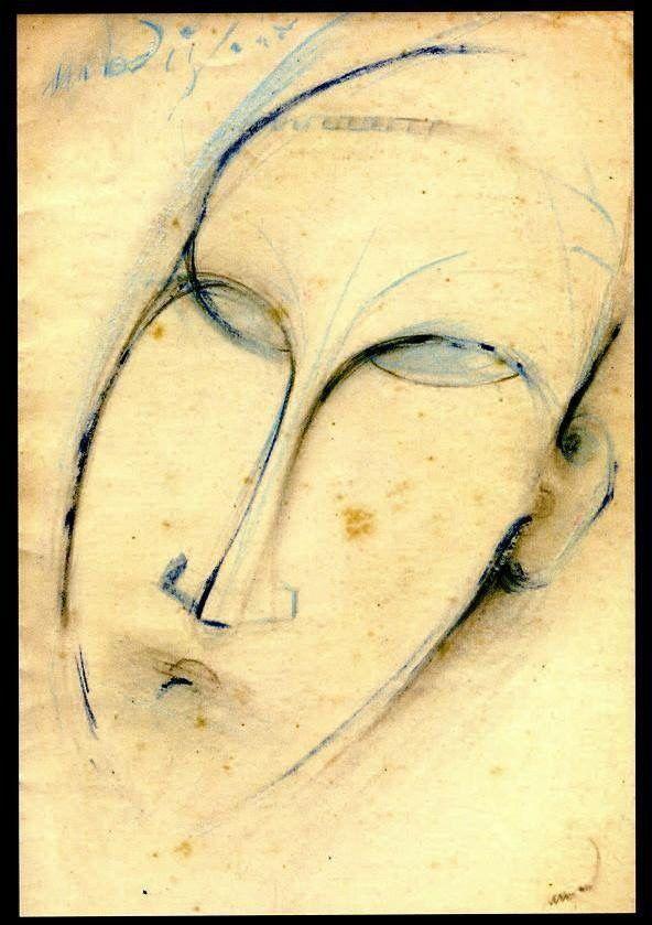 kundst: misterdoor: Modì Amadeo Modigliani (It. 1884-1920)