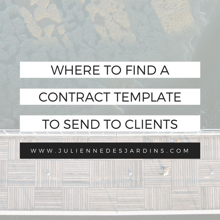 """Recently, I shared with you my 3 favorite free tools for getting clients to electronically sign your contacts. But what if you don't already have a contract in place? When I Got Started, I Wasn't Sure Which Sections To Include My Contract. And I Didn't Know Which Templates Were """"Good"""" For Freelancers."""