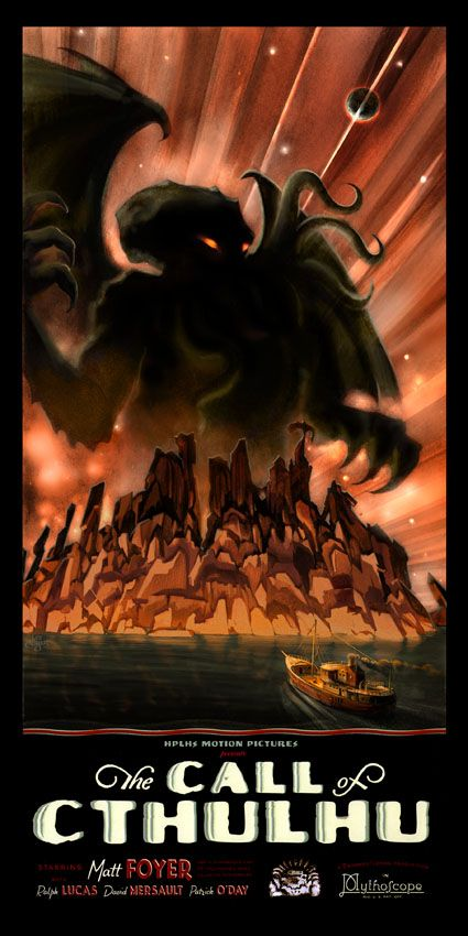 The Call of Cthulhu Film poster