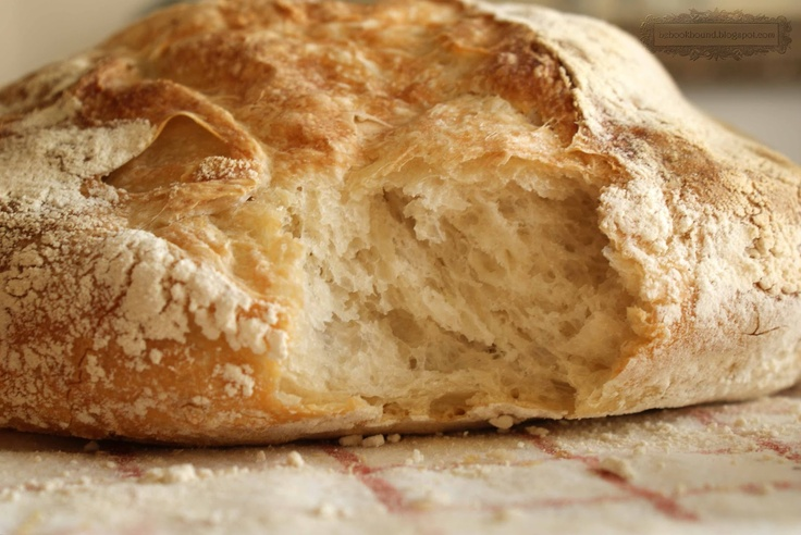 Rustic Artisan Bread, via Be BookBound