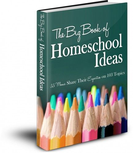 The Big Book of Homeschool Ideas ~ 55 Moms Share Their Expertise on 103 Topics