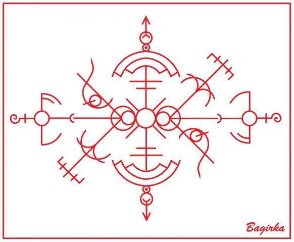 """Став """"Счастье"""" - для притяжения счастья на всех уровнях (автор Bagirka)"""