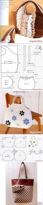 107 best сумки текстильные images on Pinterest   Couture sac, Bag ...