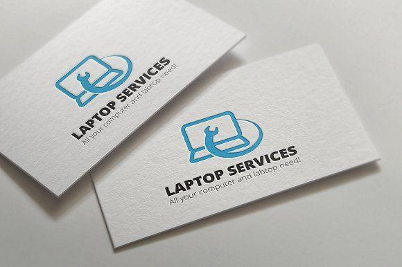 Laptop Repair Services by Super Pig Shop on @creativemarket