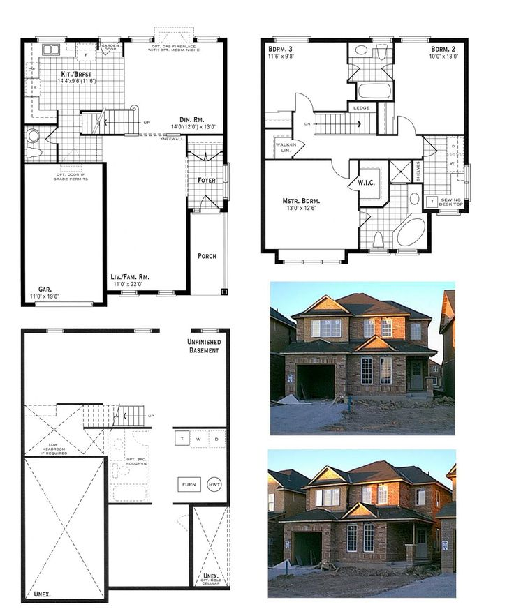 House Plan and Elevation Photos Double storey house