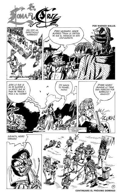 THE ART OF WALLIS : PÁGINA 31 DE LA LOMA DE LA CRUZ