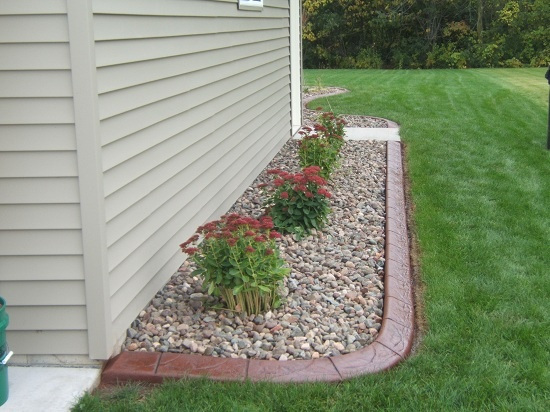 Landscaping Ideas Garage Area : Ideas door project outdoor living landscaping nest garage
