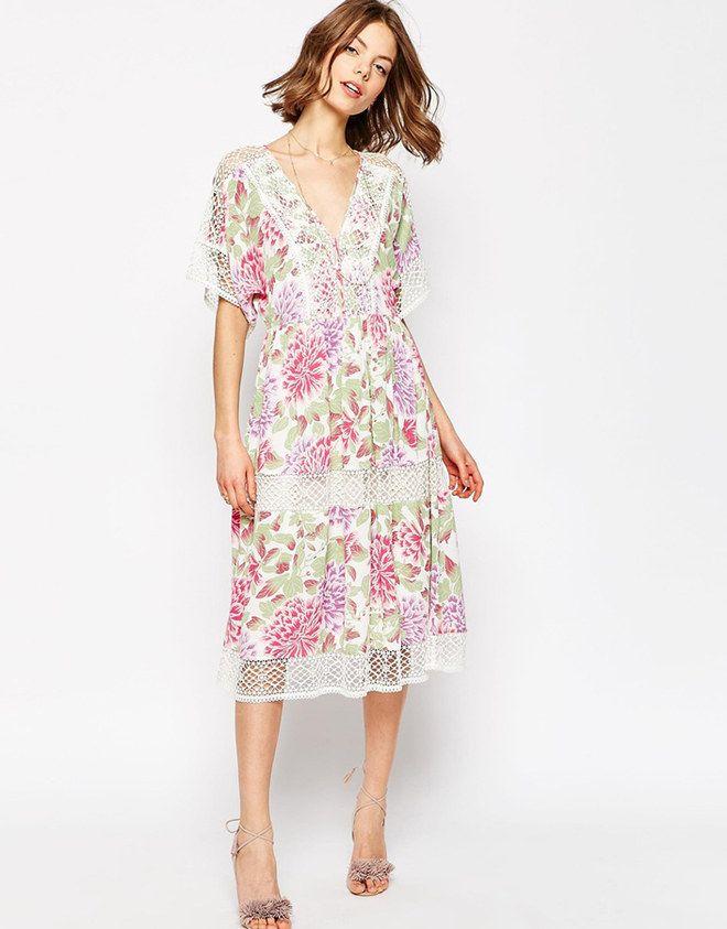 Delicati, pastello, floreali. I vestiti romantici per la primavera 2016