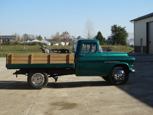1955 chevy 1 ton dually. Black Bedroom Furniture Sets. Home Design Ideas