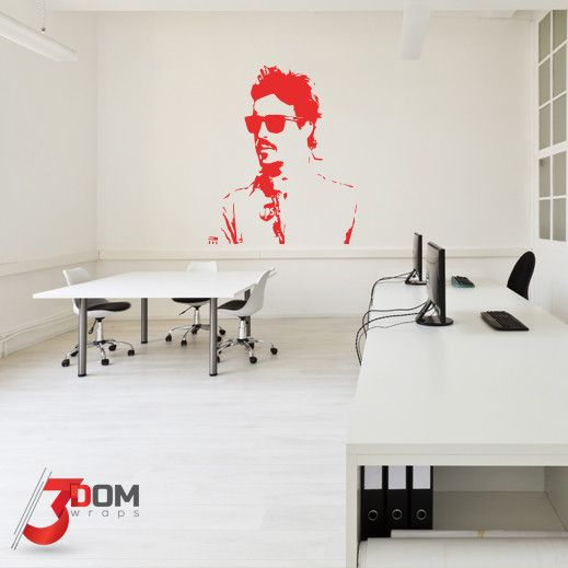 Legends Wall Vinyl - Alonso Silhouette | 3Dom Wraps – 3Dom Wraps Store