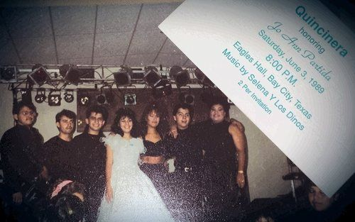 Rare Selena picture..