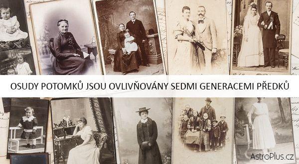 Osudy potomků jsou ovlivňovány sedmi generacemi předků  | AstroPlus.cz