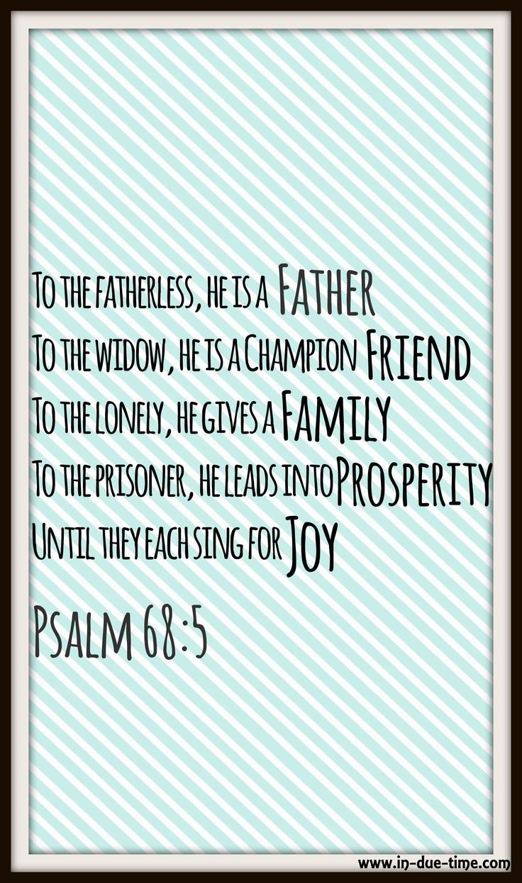 He is father, friend, family, and He leads all into prosperity.