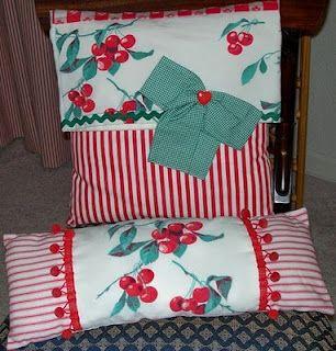 Dianne Zweig - Kitsch \u0027n Stuff: Colorful Handmade Pillows Made From Vintage\u2026 & 25+ unique Handmade pillows ideas on Pinterest   Handmade cushions ... pillowsntoast.com