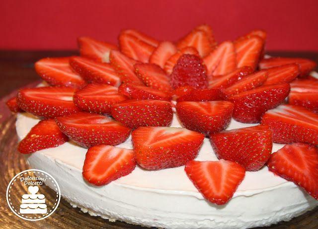Strawberry cheesecake - Cheesecake fredda alla fragola