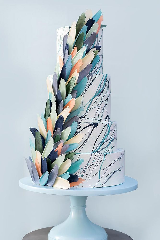 cake design trends 2020 1 Beautiful Wedding Cakes The Best From Pinterest  Cake