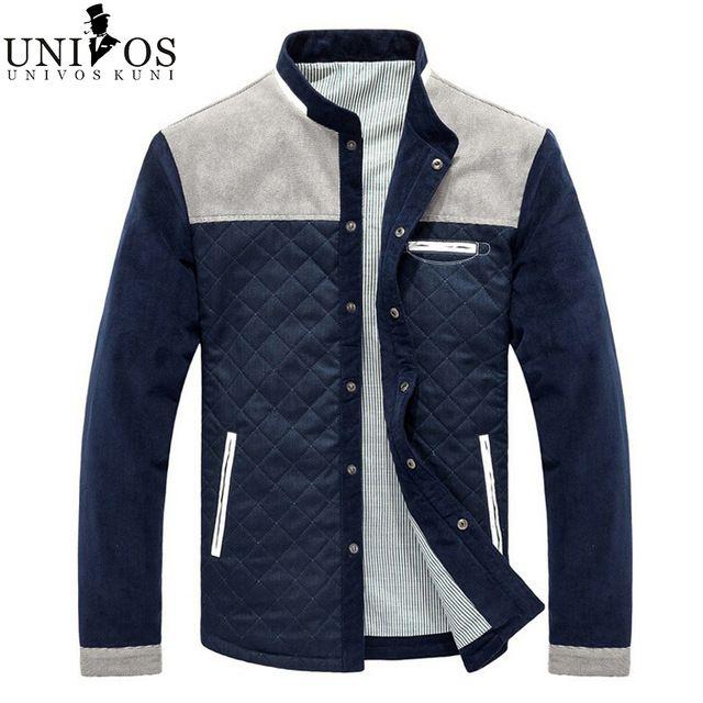 Casual Jacket Men Brand 2016 Spring Autumn Corduroy Mens Collge Jackets Male  Slim Fit Zipper Coats 31621e3b36f