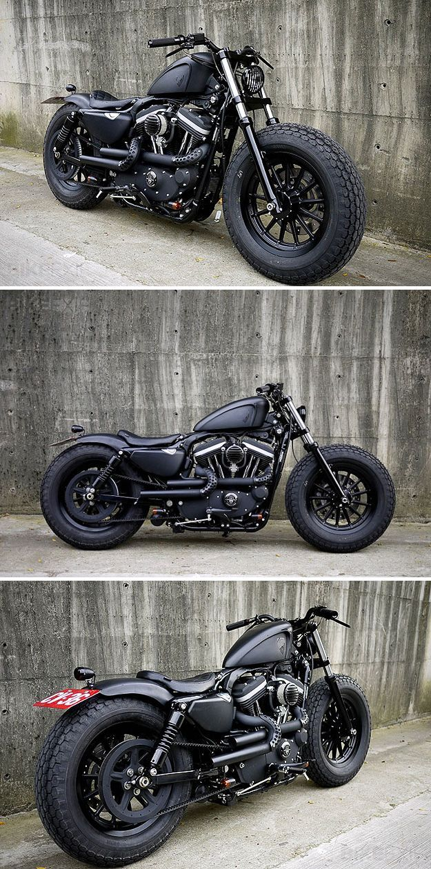 Harley Davidson Sportster-2009 #motocycles #motos #custom | caferacerpasion.com