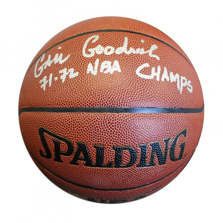 Nice AAA Sports Memorabilia LLC   Gail Goodrich Autographed Indoor/Outdoor  Basketball Inscribed