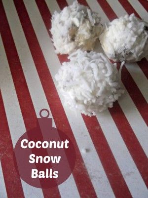 Coconut Snow Balls - No bake Recipe! Easy to make and delicious to ...