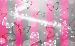 fototapet fluturi abstract