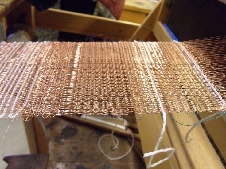 copper wire weaving