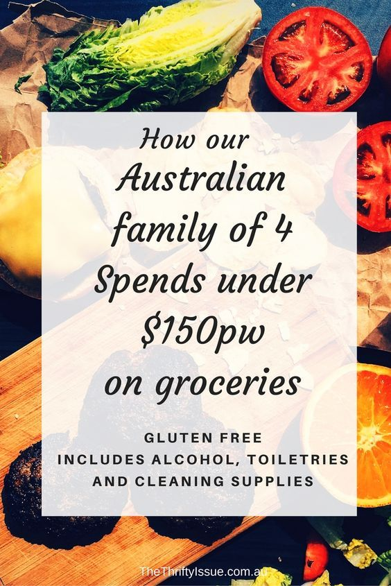 Spend less than $150pw on groceries in Australia