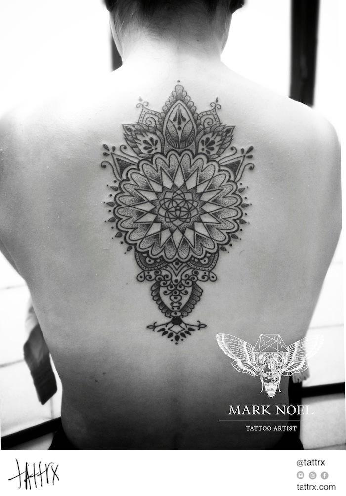 Bildergebnis für black and white bird tattoos mehndi